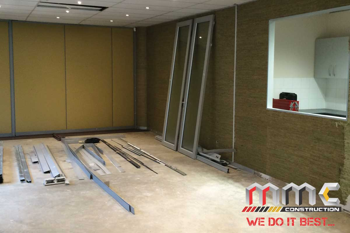 Dalberg Office Renovating