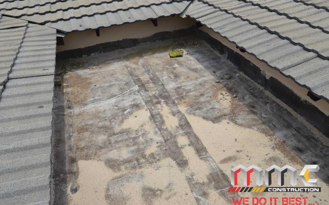 Roof Waterproofing Before