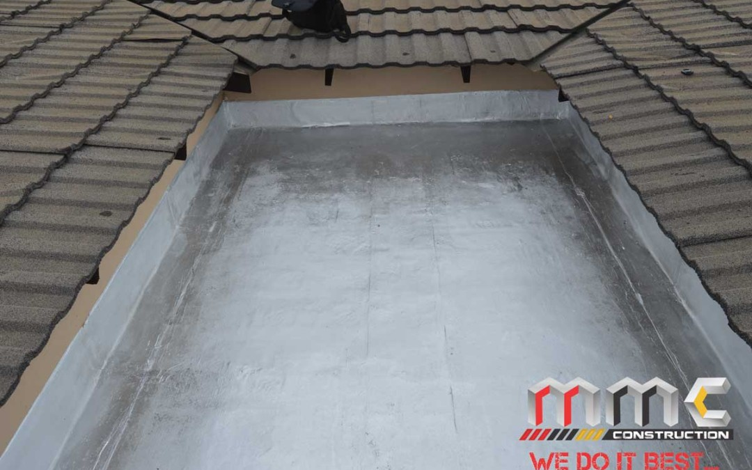 Waterproofing Almost Complete
