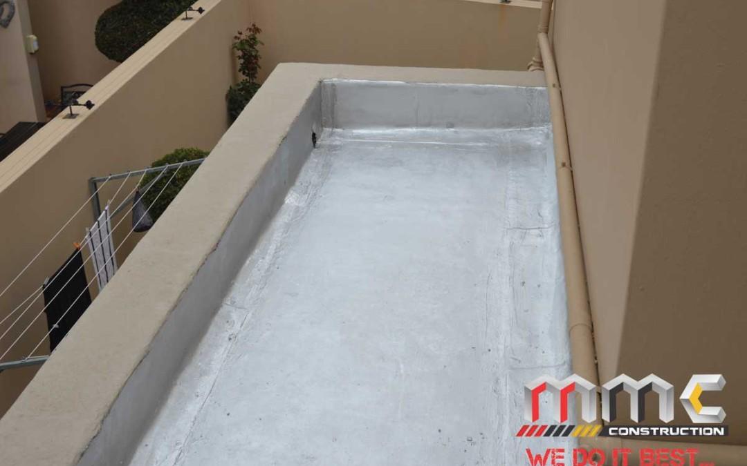 Waterproofing After